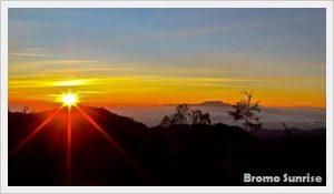 Bromo Sunrise Tour