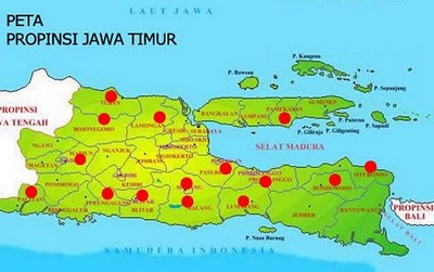 Jarak tempuh kota Malang ke kota lain