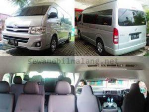Rental Hiace commuter di Malang
