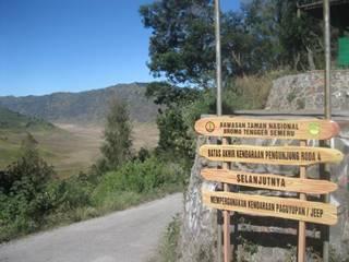 Jalur ke Bromo dari Malang
