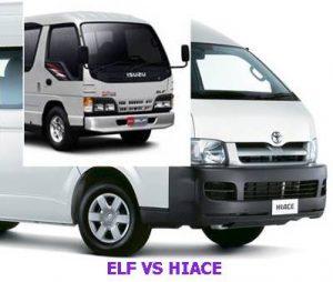 sewa elf vs sewa hiace malang